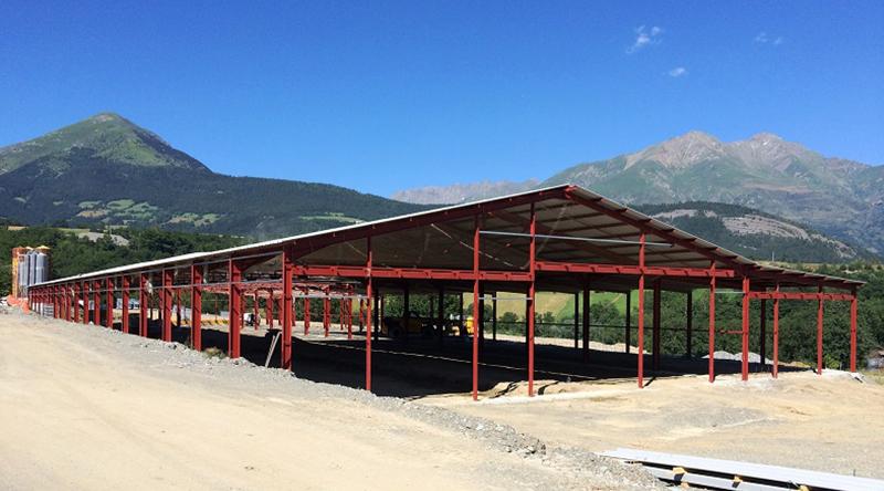 bâtiment agricole à Sousville (38)