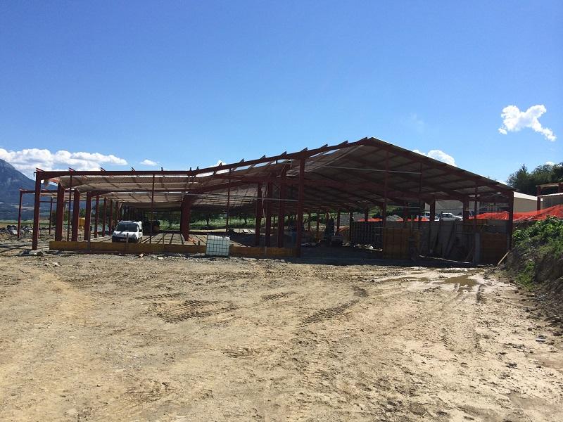Bâtiment agricole à Susville (38)